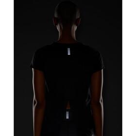 Under Armour Isochill Run 200 Short Sleeve Shirt Women black-black
